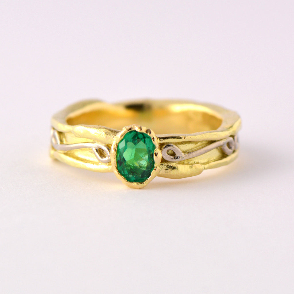 exclusive natural emerald  rings