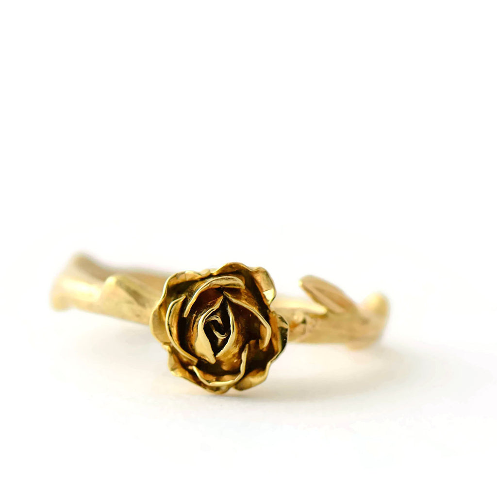 engagement rose ring