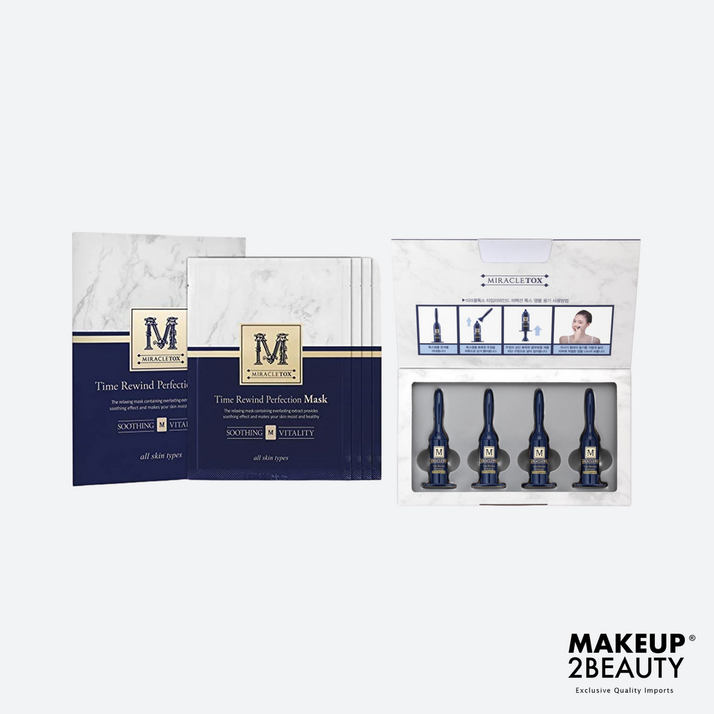 Miracletox Perfection Home Kit - 4 treatment Kit including Mask