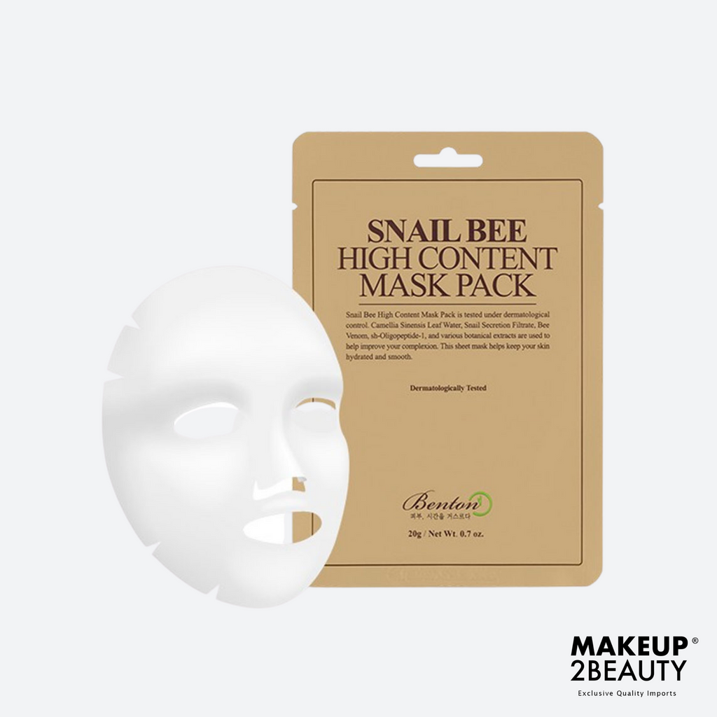 Benton Snail Bee High Content Mask Pack - Single Pack