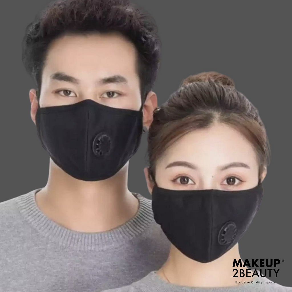 Face Mask - Reusable / Washable Mask - With x 4 Filter