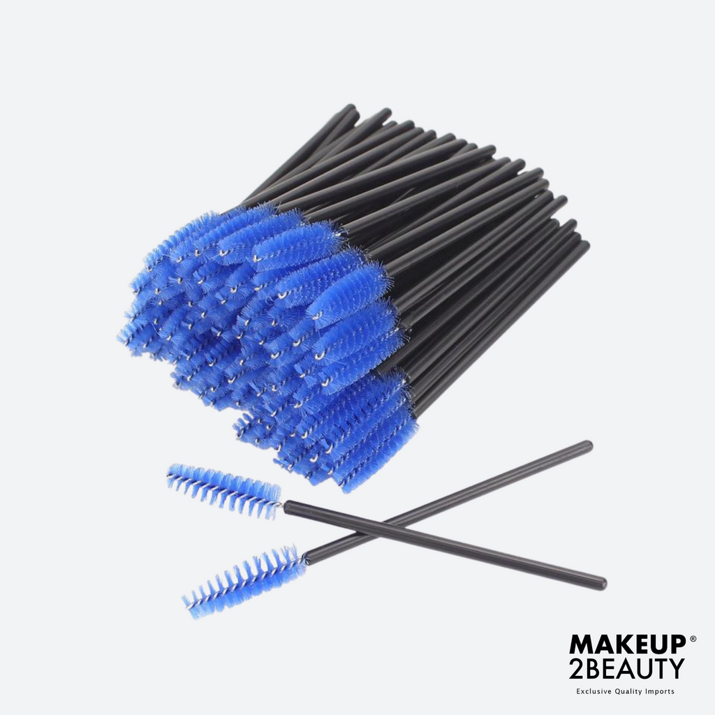 Disposable Lash Brush Blue - 50 pack