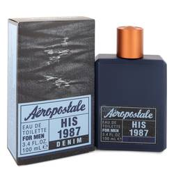 Aeropostale His 1987 Denim Eau De Toilette Spray By Aeropostale