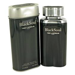 Black Soul Eau De Toilette Spray By Ted Lapidus