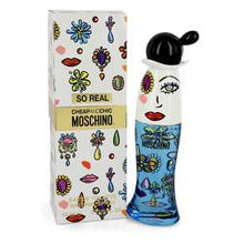 Cheap & Chic So Real Eau De Toilette Spray By Moschino