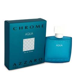 Chrome Aqua Eau De Toilette Spray By Azzaro