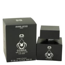 Cobra Eau De Toilette Spray By Jeanne Arthes