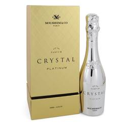 Crystal Platinum Eau De Parfum Spray By Molsheim & Co