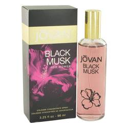Jovan Black Musk Cologne Concentrate Spray By Jovan