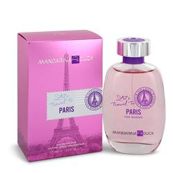 Mandarina Duck Let's Travel To Paris Eau De Toilette Spray By Mandarina Duck