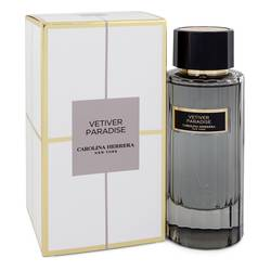 Vetiver Paradise Eau De Toilette Spray (Unisex) By Carolina Herrera