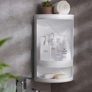 Storage box for bathroom Rotatable, multifunctional simple style storage box