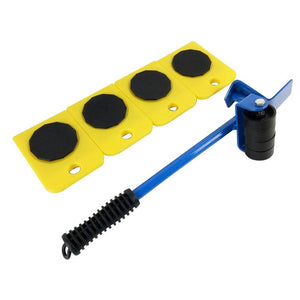 Furniture Lifter  Heavy Furniture Roller Move Tool | Max Up For 100Kg/220Lbs