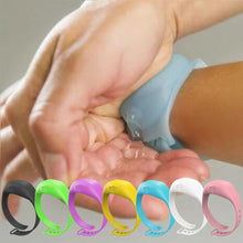 Load image into Gallery viewer, Hand Sanitizer Disinfectant Sub-packing Silicone Bracelet Wristband