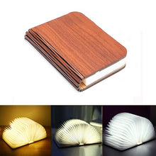 Load image into Gallery viewer, Portable 3 Colors 3D Creative LED book