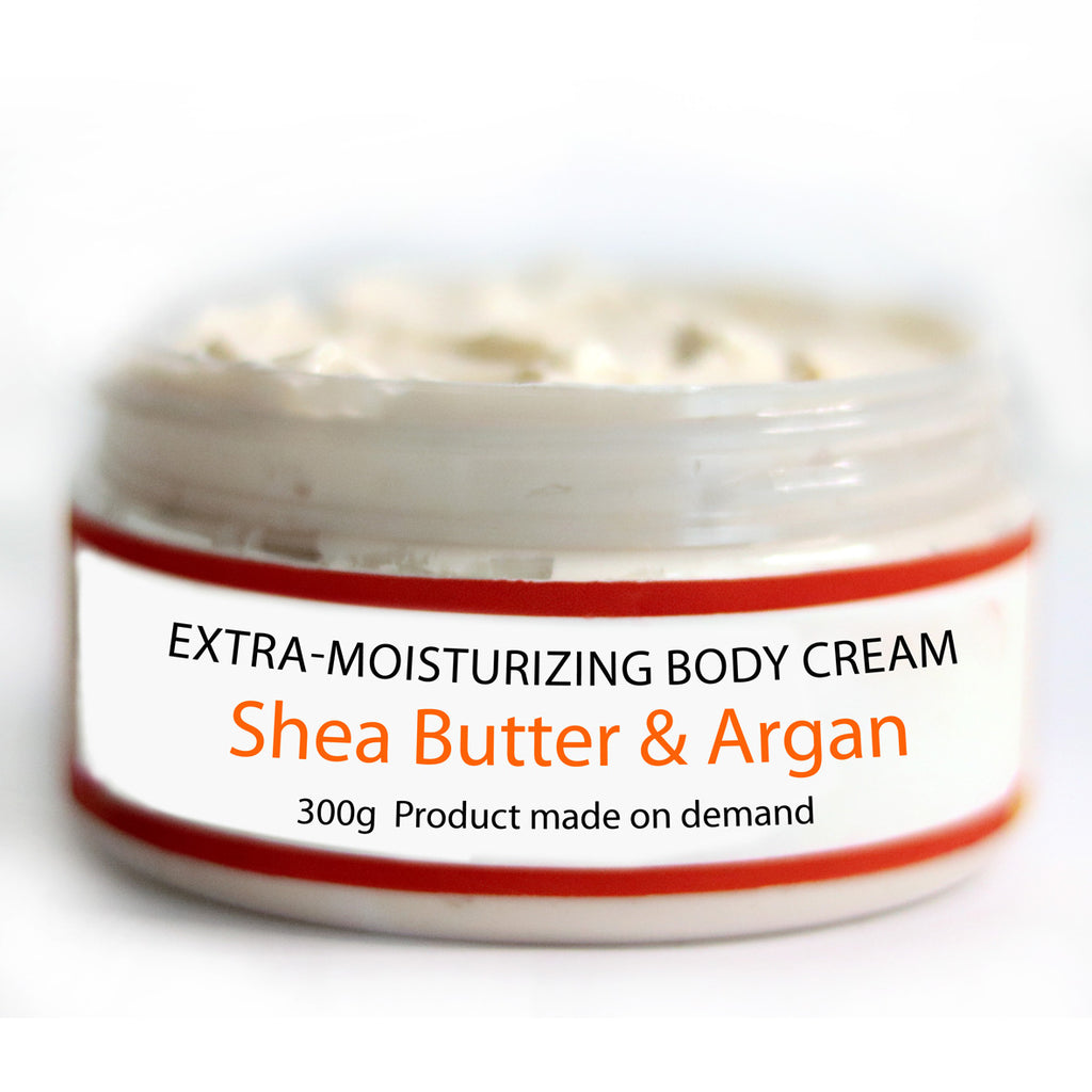 EXTRA MOISTURIZING Body Cream 300g - Shea & Argan