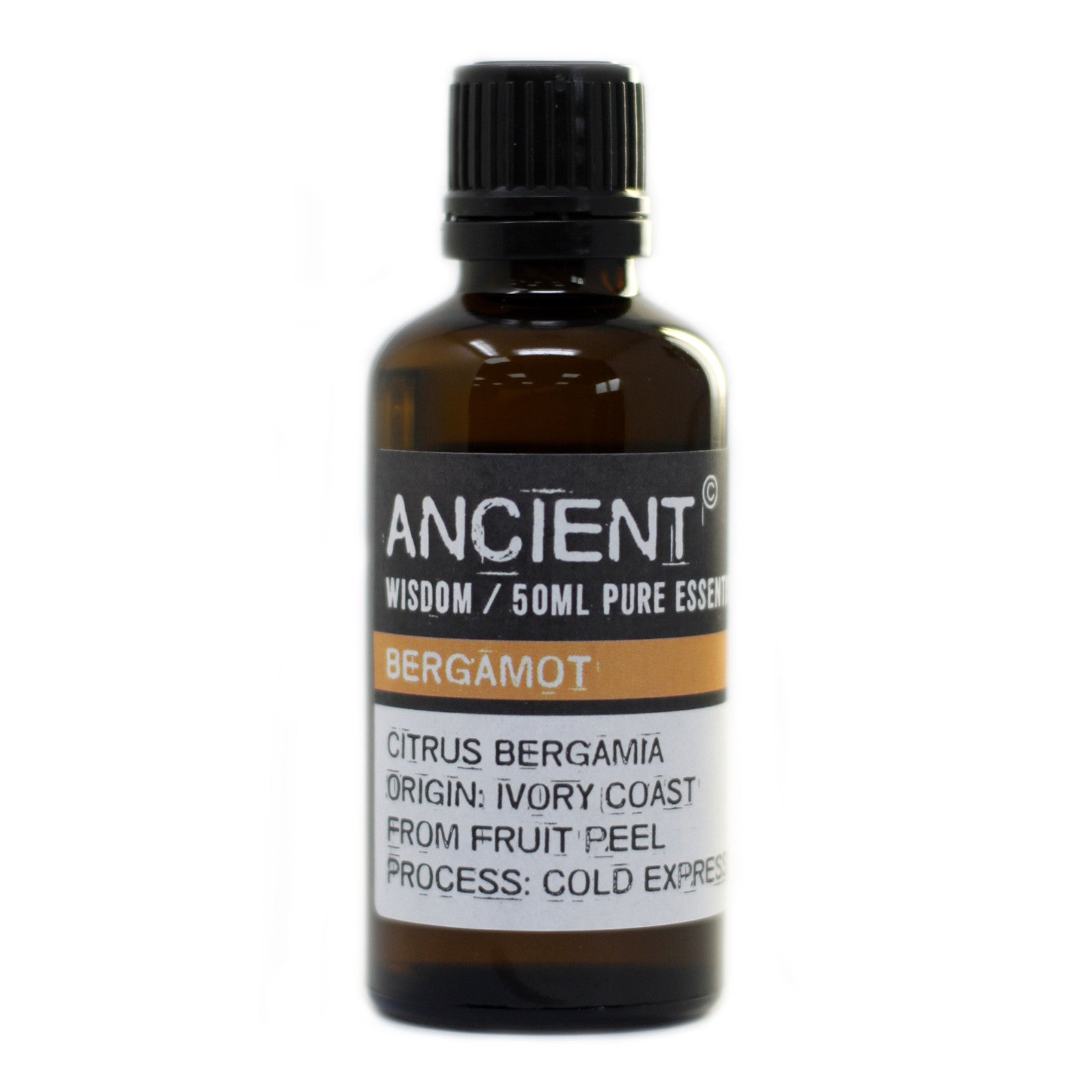Bergamot FCF Organic Essential Oil 50ml