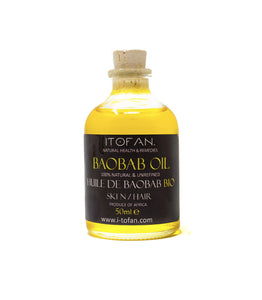 Pure Baobab Oil 100% (UNREFINED)