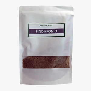 Fonio Grain (Findi) - 100% Natural - Gluten Free/Non GMO/Easy to Cook and Digest/250g