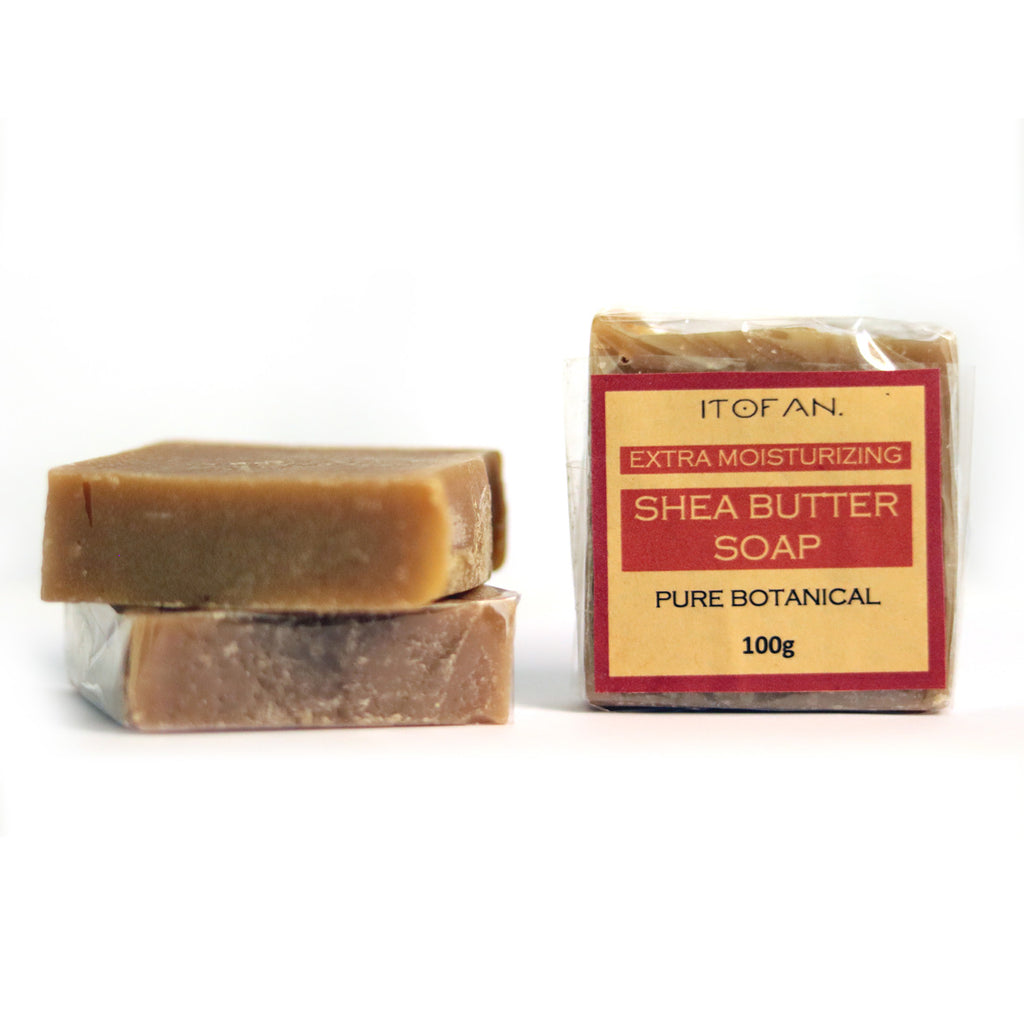 Extra-Moisturizing Shea Butter Soap