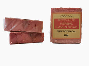 Rosy Hue Herbal Haven Soap - 100g