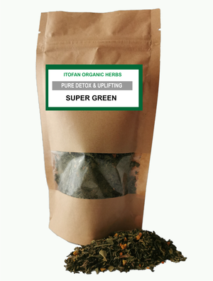 Super Green - Traditional Herbal Blend - 100% Organic - Detox/Weight loss/Cleansing
