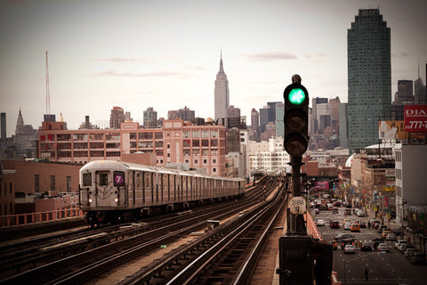 nyc, subway, 7 train, queens, grand central