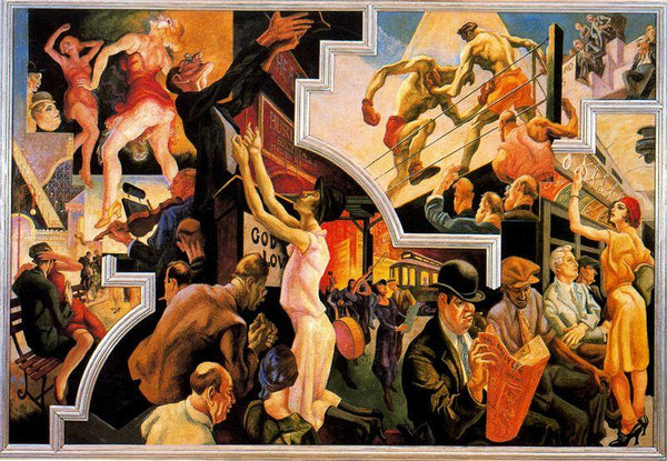 Benton America Today Mural at Metropolitan Museum