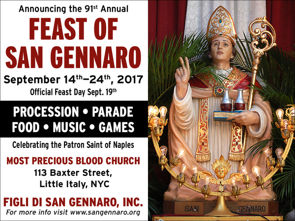Things to do in New York San Genarro Festival