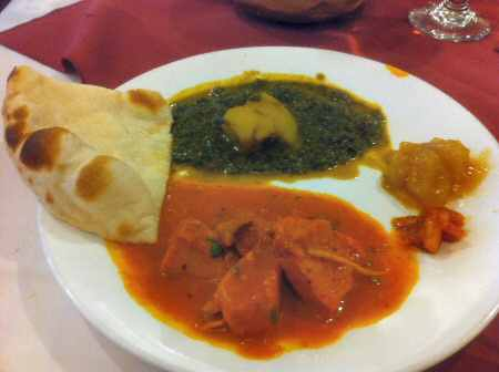 indian food, nyc, new york, chicken masala