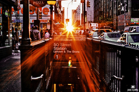 Manhattanhenge, sunset, manhattan, nyc, new york, subway