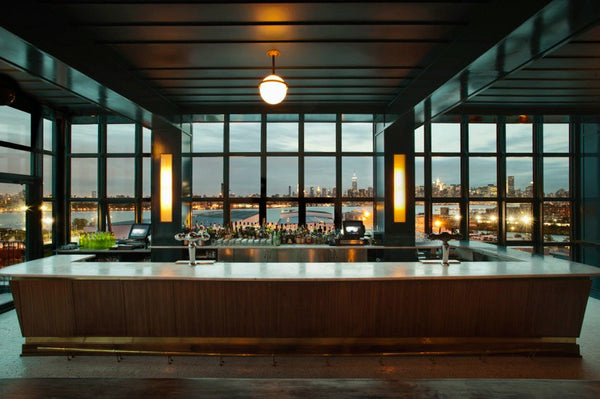 Bar Brooklyn Ausblick Manhattan