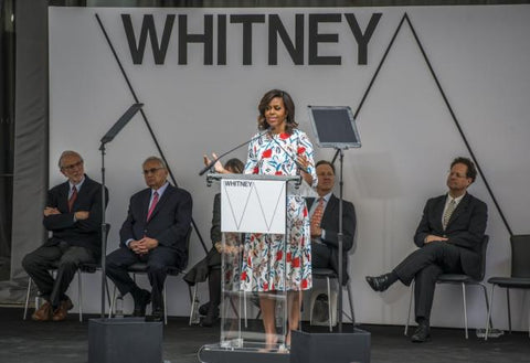whitney museum, michelle obama