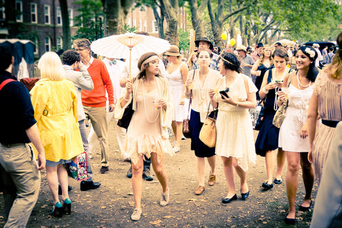 jazz age lawn party, governors island, nyc, new york
