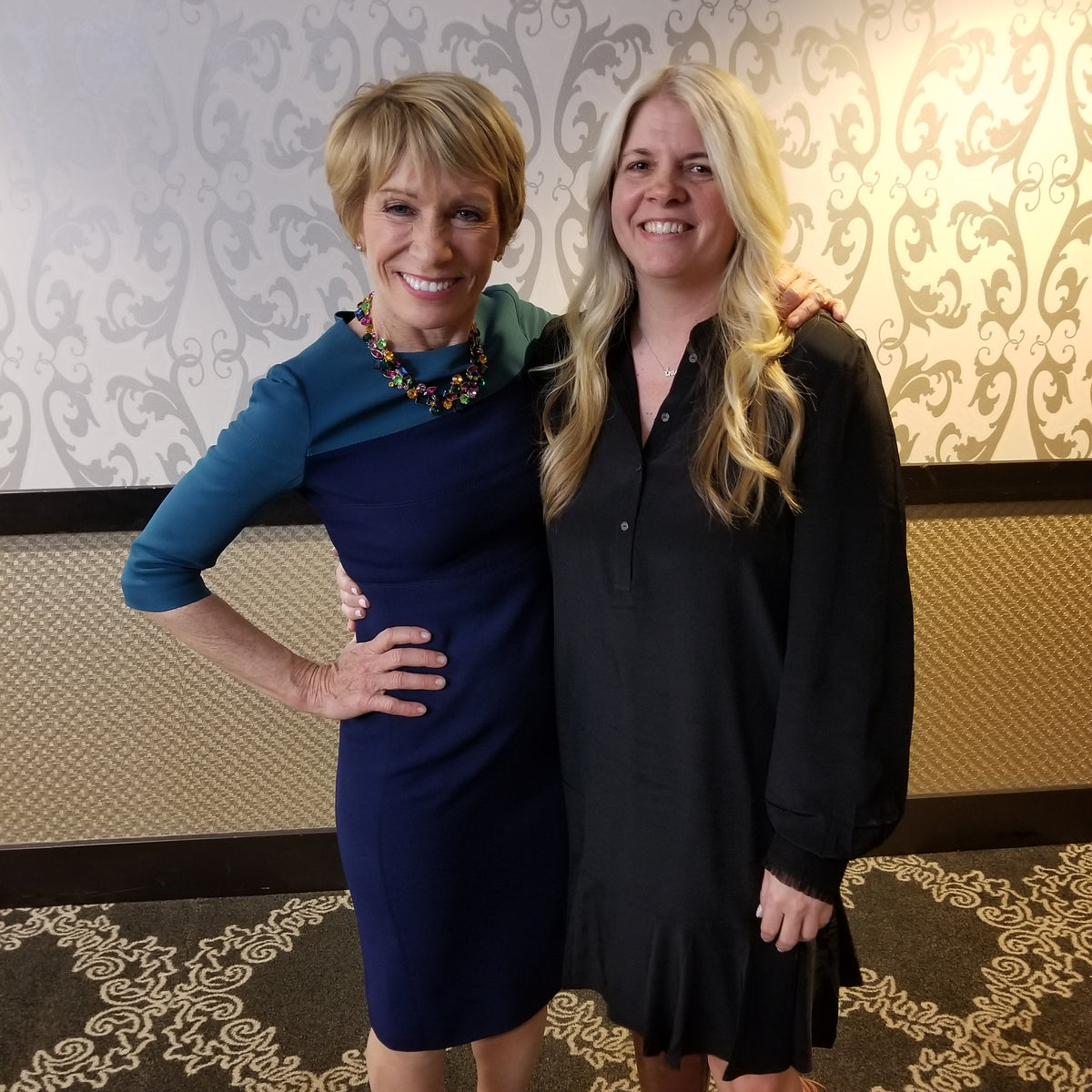 My amazing day meeting Barbara Corcoran