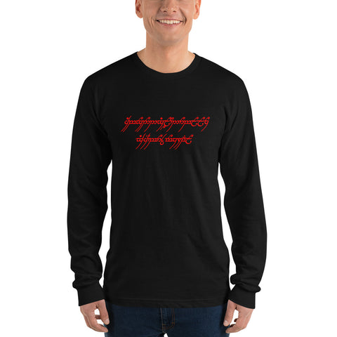 One Name-Daemon to Rule Them All Long Sleeve T-Shirt
