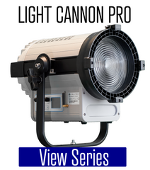Light Cannon Pro - High Output LED Fresnel Series