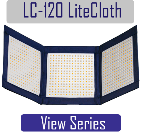 LC-120, 1x3 Foldable LED Light Mat used for video, film, photography