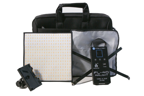 Flexible Video LED Light for Video & Photgraphy, Socanland FL-40 Airlight