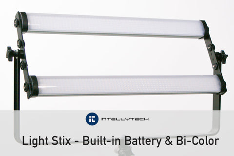 Stackable Video LED Light for Video & Photgraphy, Intellytech Light Stix
