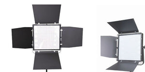 Two Light Kit - 1x1 Panels, 50W & 100W With Batteries (gold mount or v-mount) for video