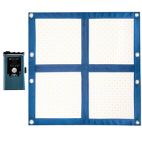 2 Light Kit - LiteCloth LC-160 2.0 - 2x2 Foldable LED Mat Kit