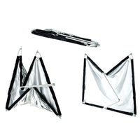 FFB-5x3.2' Fast Frame Collapsible Reflector Panel