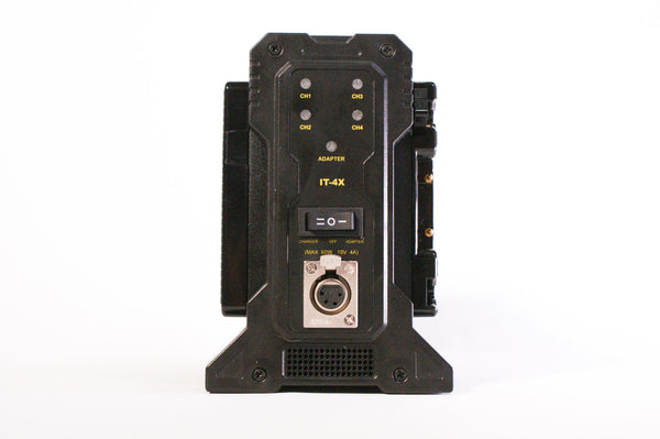 Quad Battery Charger - Anton Bauer Gold Mount / V-Mount