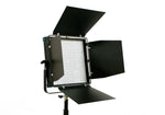 Intellytech Socanland NovaCTD - Digital, Bi-Color, 1x1 LED Light Panel with barn-doors