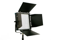 Socanland D-50CTD - Digital, Bi-Color, 1x1 LED Light Panel with barn-doors
