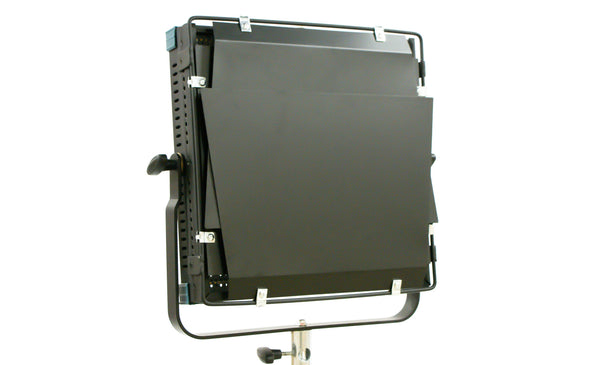 Intellytech Socanland 50CTD - Bi-Color, 1x1 LED Light Panel. Metal Frame w/ barn-doors