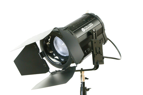 "Light Cannon - F-165 5500k AC/DC - Battery & AC Power High Output 165W LED 5"" Fresnel - W/ Wifi"