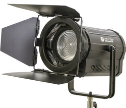 "Light Cannon - F-165 5500k - Portable, High Output 165W LED 5"" Fresnel - W/ DMX"