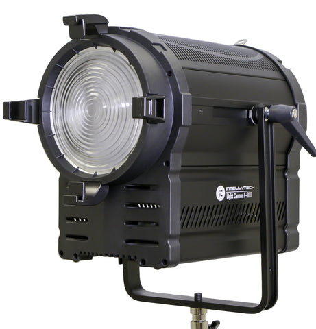 F-300 LED Fresnel Light Cannon - Daylight W/ DMX